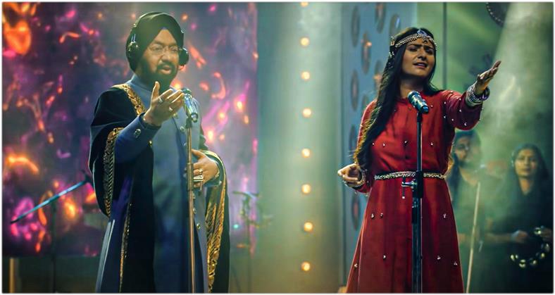 Sufi singer Jyoti Nooran of Nooran Sisters and Padma Shri Vikramjit Singh Sahney croon 'Tu Hi Ik Tu'
