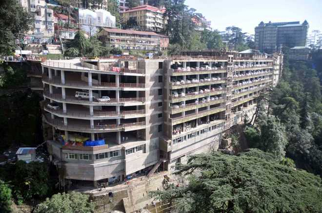 NGT refuses to allow multi-level parking project in Shimla