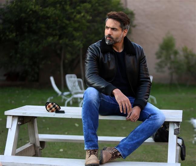 Actor Iqbal Khan is making a debut in Pollywood with Rabb Di Mehar