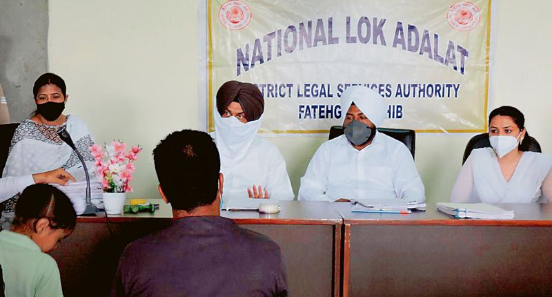 24 Benches settle 4,000 cases at National Lok Adalat in Patiala district