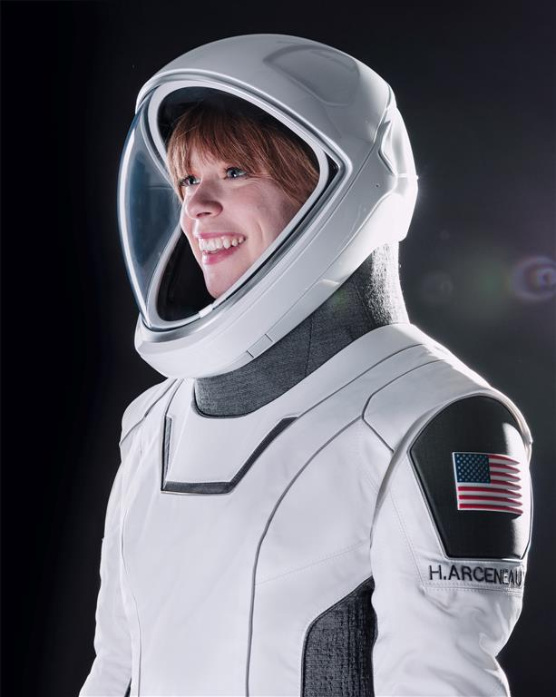 Cancer survivor Hayley becomes youngest American in space with SpaceX's launch