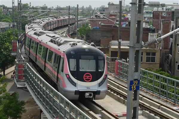 Delhi man kills self by jumping in front of moving metro train coach