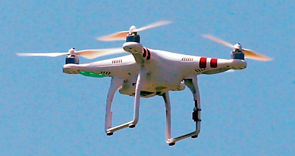 Drone spotted; two boxes seized in Amritsar