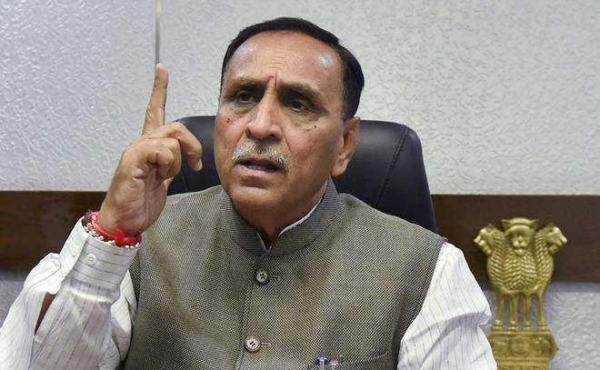 Gujarat Chief Minister Vijay Rupani resigns