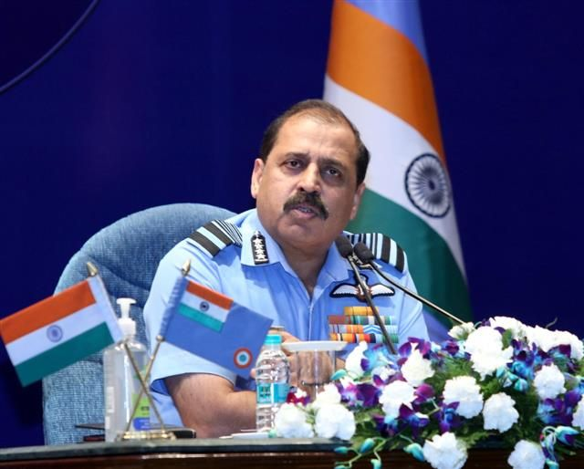 IAF Chief: Indigenous tech vital to counter China threat