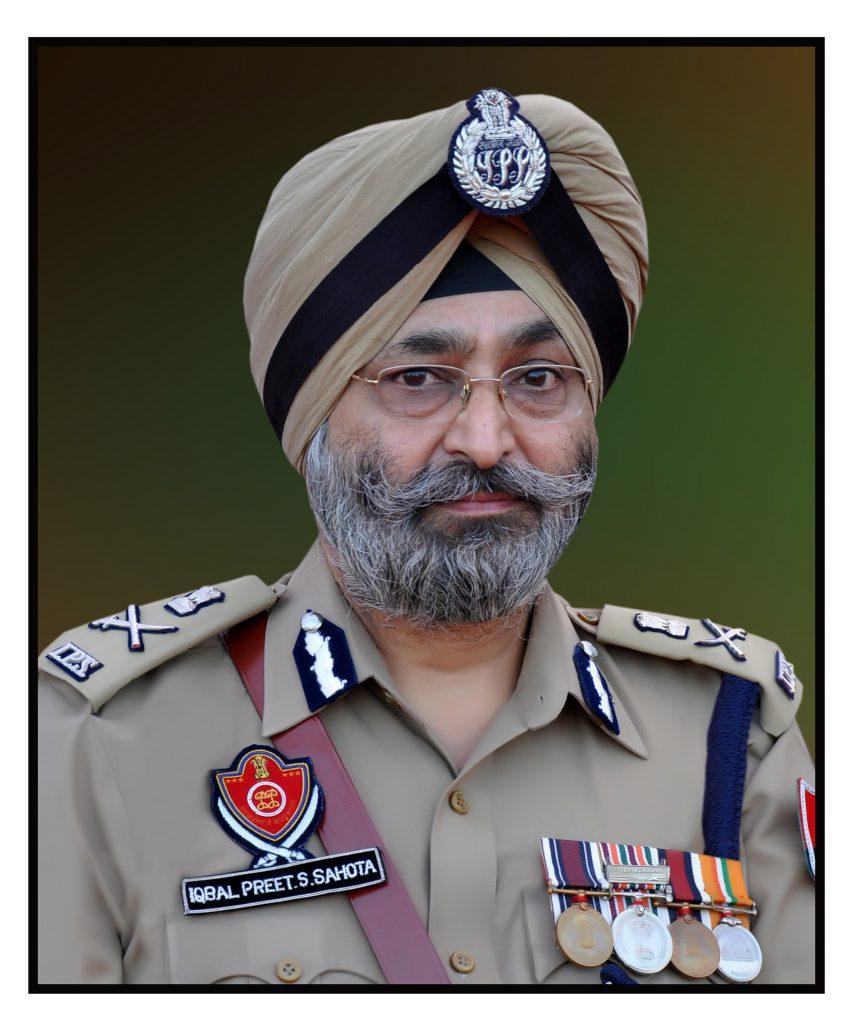 Iqbal Preet Singh Sahota appointed officiating DGP of Punjab
