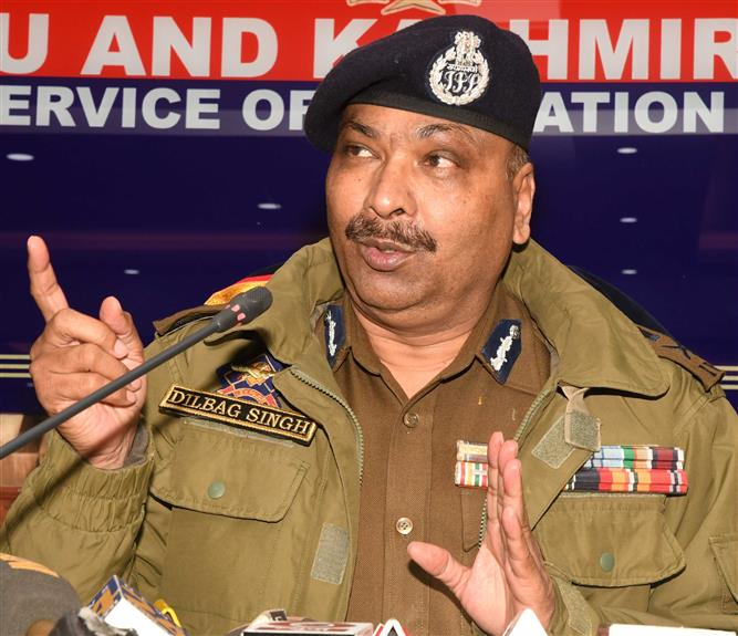 Those behind young cop's killing identified: J-K police chief