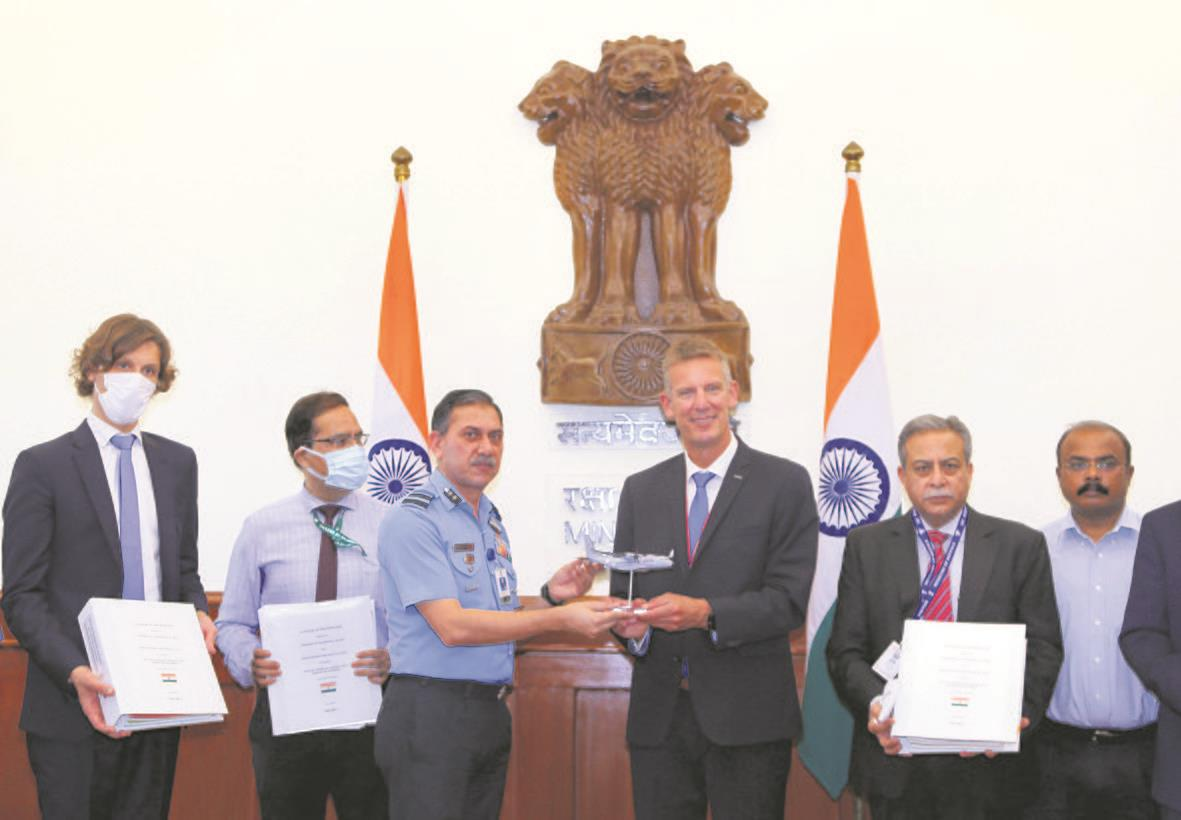 MoD, Airbus sign Rs 21K-cr deal for 56 planes