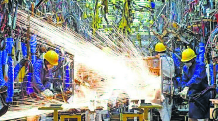 Factory output grows 11.5% in July on low-base effect