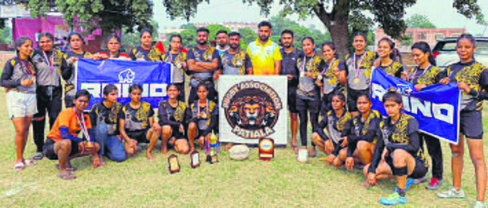 Patiala teams win silver in rugby tourney