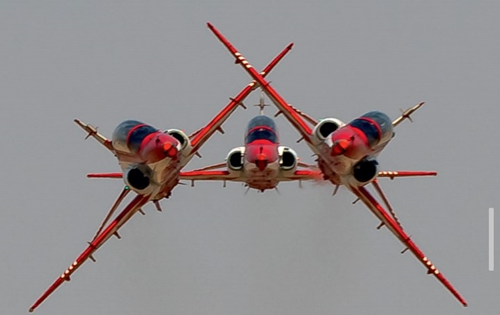 Suryakiran: Flying formation that dazzles the skies with loops, rolls and dives