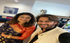 Pooja Batra visits Amit Sarin's home for Ganpati in LA