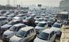 Bharat Bandh: Traffic congestion at Delhi-Gurugram border
