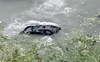 Car with Haryana number falls in Beas river in Mandi on Chandigarh-Manali highway, no trace of passengers