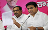 Court restrains Telangana Cong chief from linking KTR with drugs