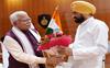 Channi meets Khattar, hopes for cooperation between Punjab, Haryana