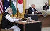 Quad leaders pledge to work together for peace and prosperity in Indo-Pacific region