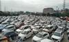 SAD protest: Huge traffic jam at Gurugram-Delhi border blocks expressway