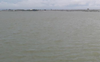 Flooding of the mighty Mahanadi