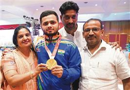 On the Paralympics podium, families win too