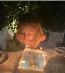 Watch: A terrifying scene as Nicole Richie celebrates 40th birthday