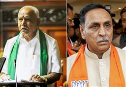 Rupani fourth BJP's CM to be replaced in last 6 months