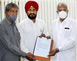 Charanjit Singh Channi to take over as Punjab Chief Minister today