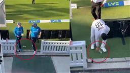 Video of Virat Kohli picking up a bottle while Joe Root 'ignores' it goes viral