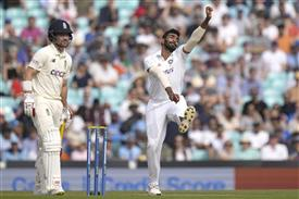 Bumrah becomes fastest Indian pacer to reach 100 Test wickets mark
