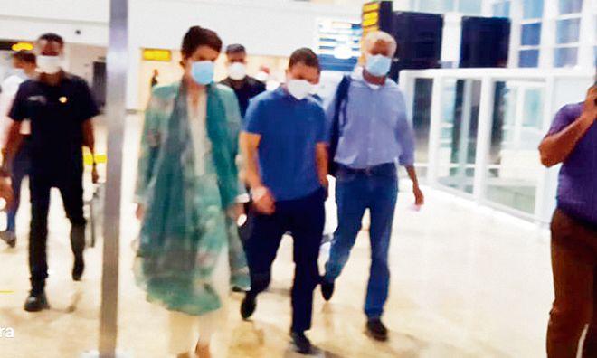 Speculation as Rahul Gandhi, Priyanka, Jakhar leave for Delhi