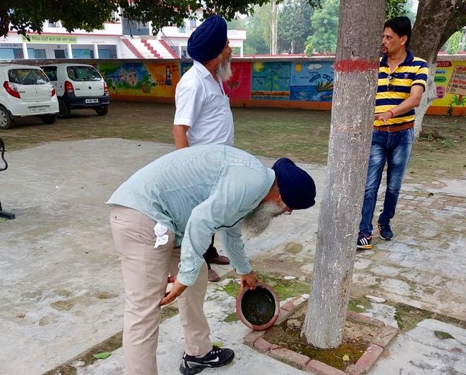 Mandi Ahmedgarh: Efforts to spread awareness on vector-borne diseases