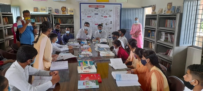 Ambala school libraries to get books on competitive exams