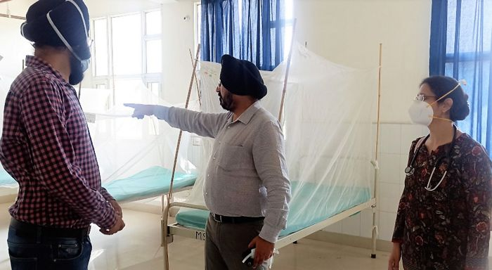 Health Dept sets up 76 dedicated beds for dengue at hospitals in Patiala district