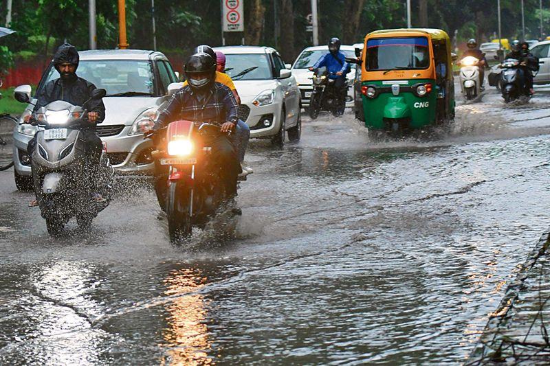 Chandigarh sees 31 mm of rainfall, mercury dips