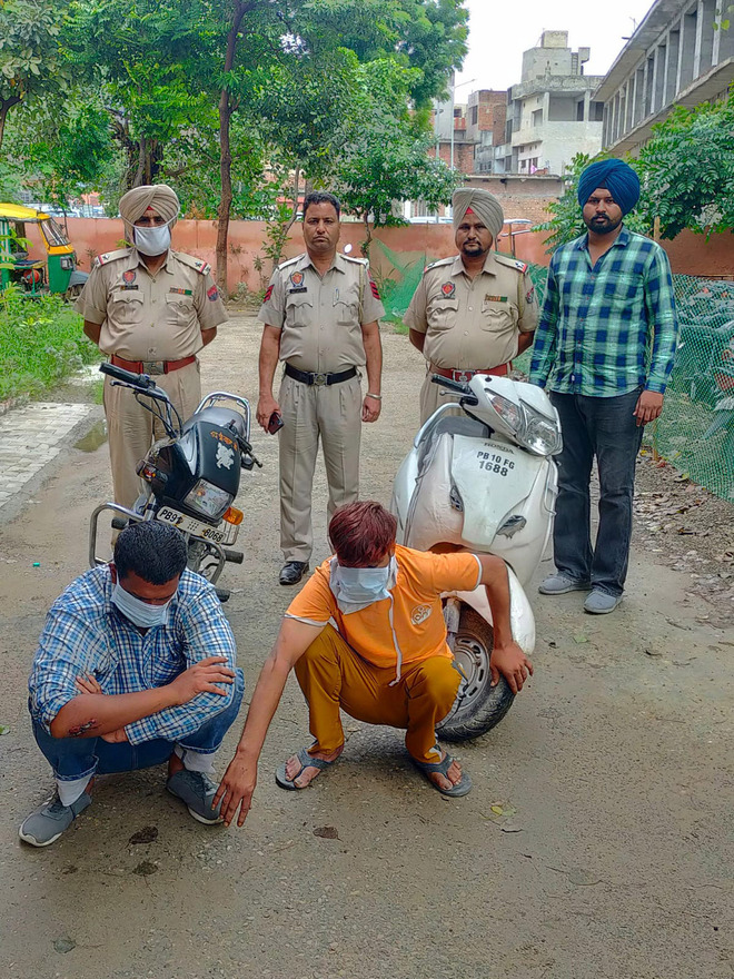 Police bust gang of vehicle thieves in Ludhiana