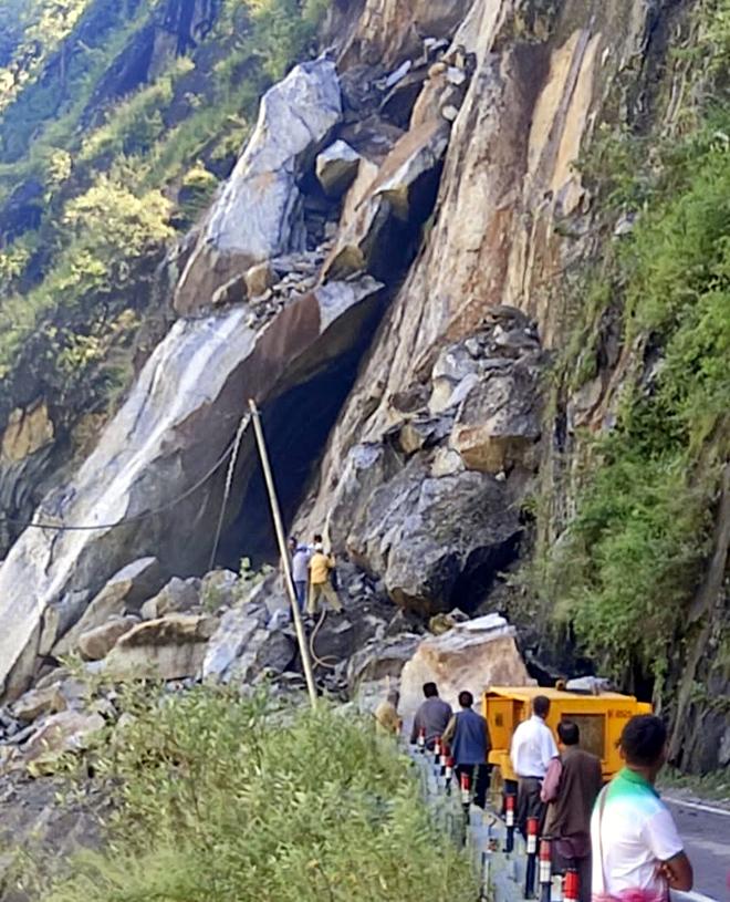 Shimla-Kinnaur highway blocked