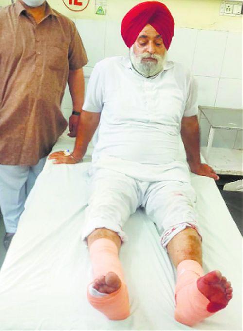 Shopkeeper shot at in Patti town, injured