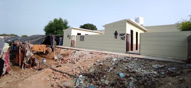 Setting an example: Rurka Kalan panchayat constructs toilet block for tribal settlers