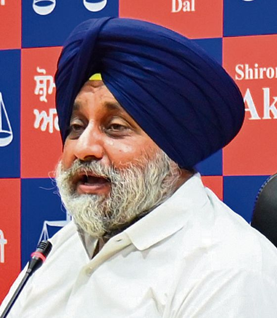 Our fight is against Centre, says Sukhbir Badal