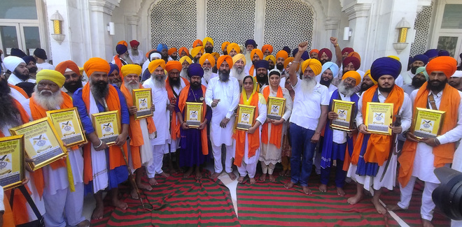 All-India Sikh Students' Federation celebrates its 77th Foundation Day at Golden Temple