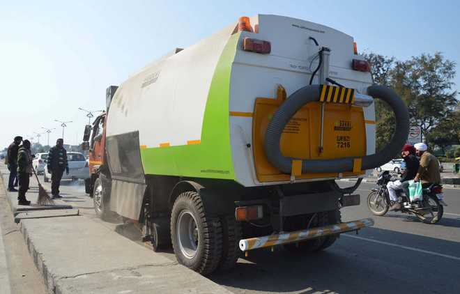 Soon, Dera Bassi to have mechanised sweeping