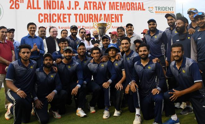 JP Atray Memorial Tournament: Himachal Pradesh Cricket Association beat Ranstar Cricket Club Delhi, lift cup