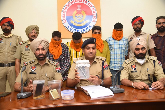 Two carjackings solved in Ludhiana, four robbers arrested