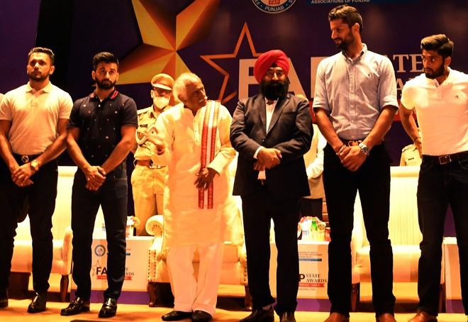 Haryana Governor Bandaru Dattatreya honours Punjab schools