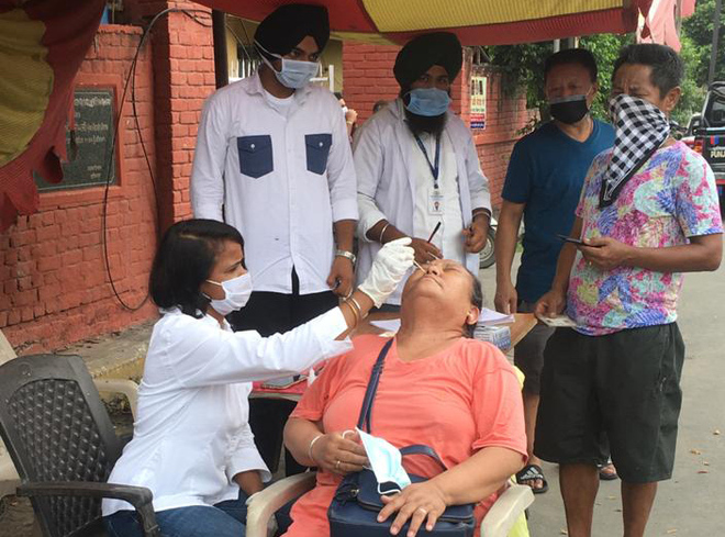 Four test positive in Ludhiana district