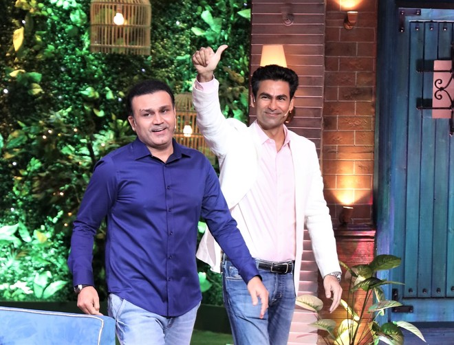 Get ready for pitch-perfect weekend with cricketers Virender Sehwag and Mohammad Kaif