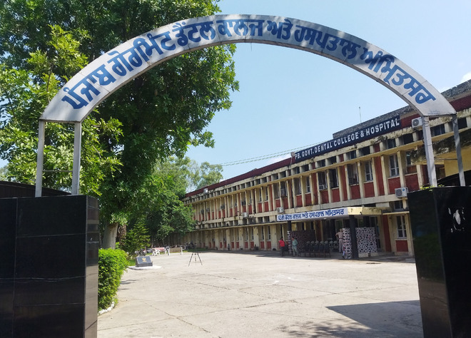 With minimal staff, clinical work takes a hit at dental college in Amritsar