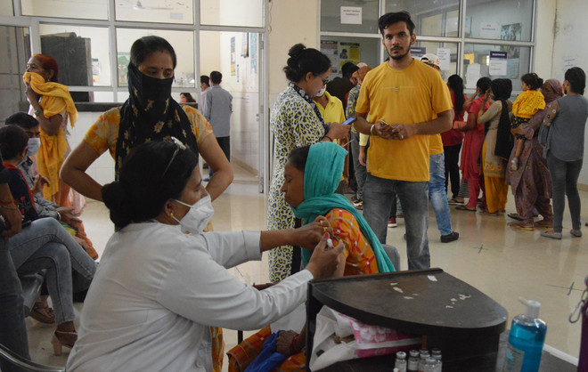 Two test positive in Ludhiana district