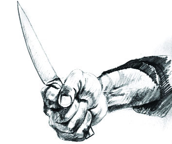 Neighbour stabs father-son duo in Nayagaon, held