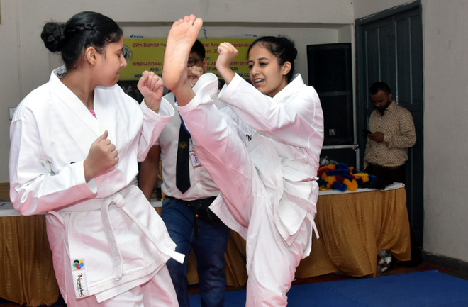 Over 100 compete in martial arts championship